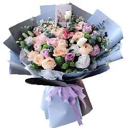 22朵玫瑰,爱永为你驻留