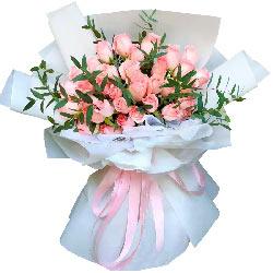 29朵戴安娜粉玫瑰,生生世世幸福缠绵