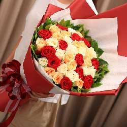 33朵玫瑰,幸福花开