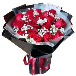 19朵红玫瑰,创造我们的爱情