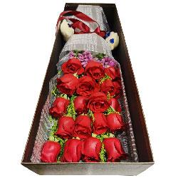 18朵红玫瑰,每一天爱你