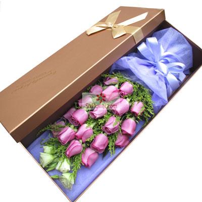 19朵紫玫瑰,庆幸拥有你