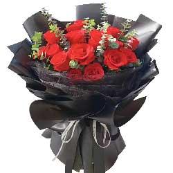 15朵红玫瑰,原谅我爱你一辈子