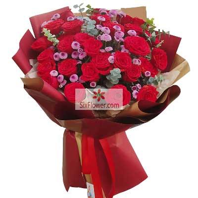 29朵红玫瑰,和你一起走过人生路