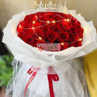 33朵红玫瑰,注定爱你一生