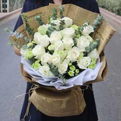 21朵白玫瑰,爱情交汇点
