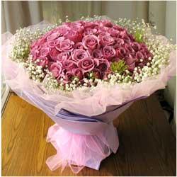 99朵紫玫瑰,爱情终成眷属