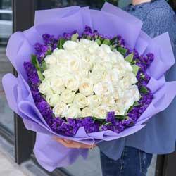 33朵白玫瑰,你是我人生的主角