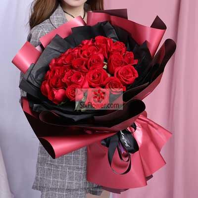 35朵红玫瑰,你是我的全世界