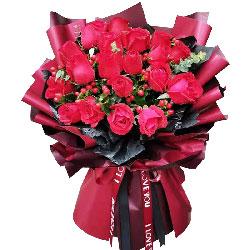 19朵红玫瑰,一生都爱着你