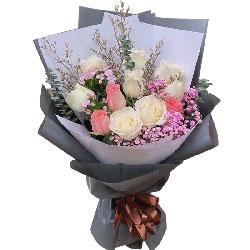 11朵玫瑰,我爱你一心一意