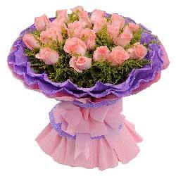 18朵戴安娜粉玫瑰,愿爱永恒