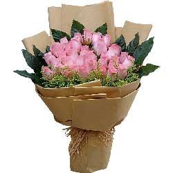40朵戴安娜粉玫瑰,时刻想着你