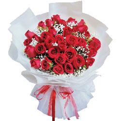33朵红玫瑰,轻声地将你呼唤