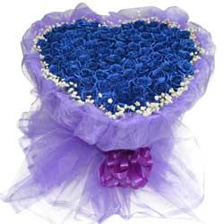 99朵蓝玫瑰,爱你我奋不顾身