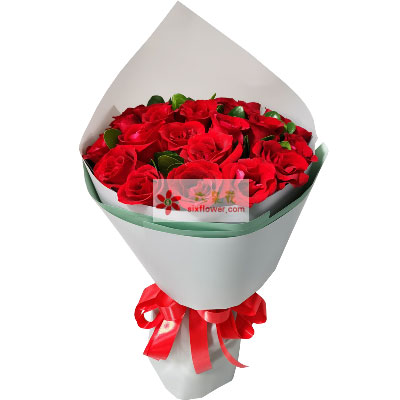 29朵红玫瑰,生命绽放光彩