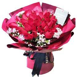 39朵红玫瑰,爱她的一切一切
