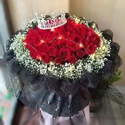 99朵红玫瑰,真正爱你的人