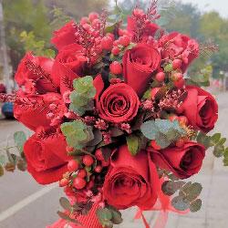 99朵红色玫瑰,永保新鲜的爱