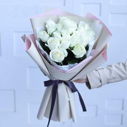 19朵白玫瑰,美丽爱情