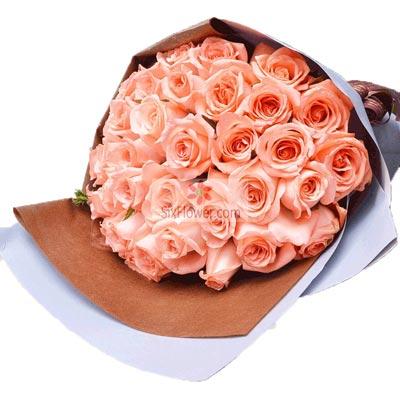 29朵粉玫瑰,疼你永远真心话