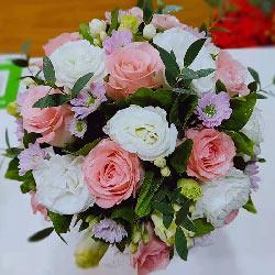 12朵戴安娜粉玫瑰,真爱没有借口