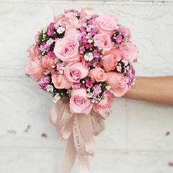 11朵戴安娜粉玫瑰,缘份与真情