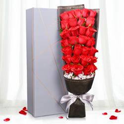 29朵红玫瑰,牵手永远