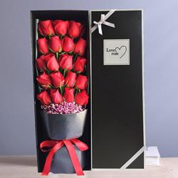 19朵红玫瑰,相约一生一世