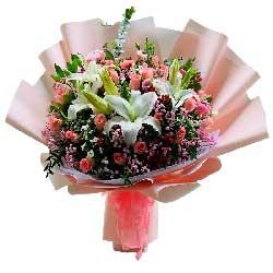 29朵戴安娜粉玫瑰,此生不离