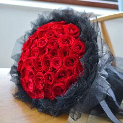 35朵红玫瑰,永远爱你