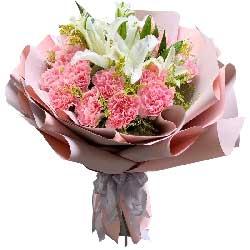 19朵康乃馨,每天都健康快乐