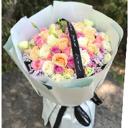 33朵玫瑰,永远的爱