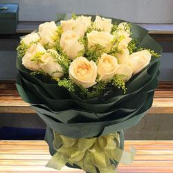 18朵香槟玫瑰,你是我今生的最爱