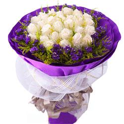 19朵白玫瑰,今生有你真好