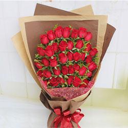 38朵红玫瑰,和你在一起的每一天都特别美