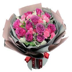 32朵粉色康乃馨,一生平安,健康长随