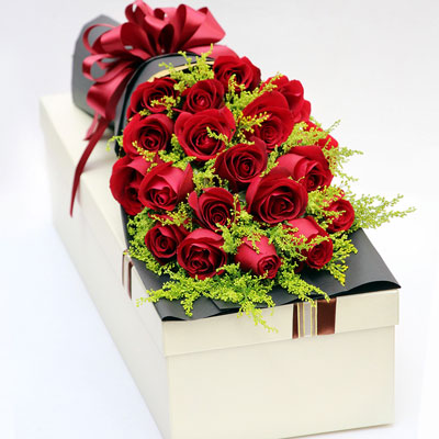 20朵红玫瑰,你是我生命的图腾