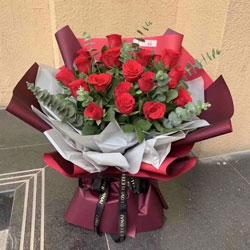 16朵红玫瑰,永远最爱你