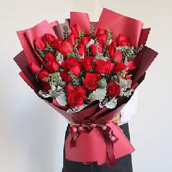 33朵红玫瑰,珍贵的不尽缘