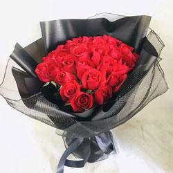 29朵红玫瑰,最真挚的情感