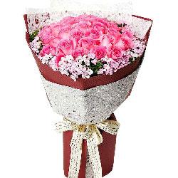 33朵苏醒玫瑰,你永远在我的心里