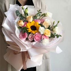 10朵玫瑰,生命有你才有意义