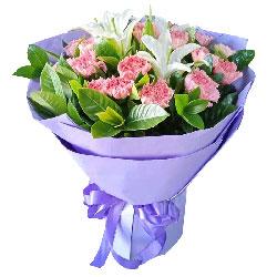 19朵康乃馨,最真心的祝愿