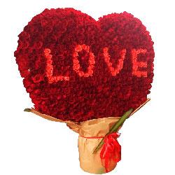 520朵玫瑰,亲爱的,想你