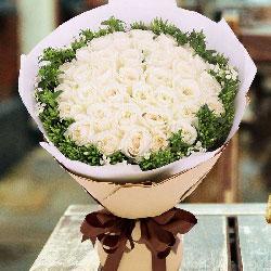 33朵白玫瑰,爱你爱你就只爱你