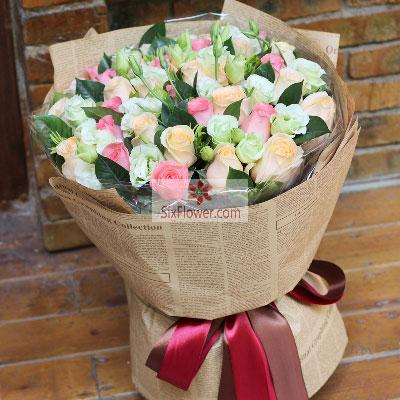 33朵玫瑰花,愿我们的一切都那么美好