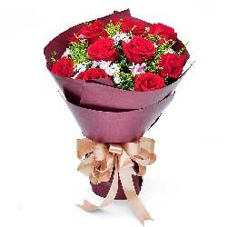11朵红玫瑰,一生一世的幸福甜蜜