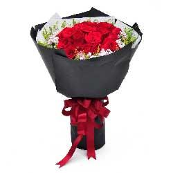 19朵红玫瑰,爱永远也不变