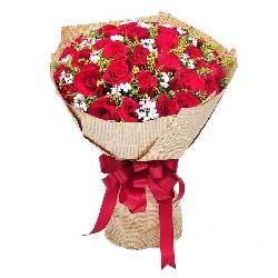 30朵红玫瑰,携手共度浪漫时光
